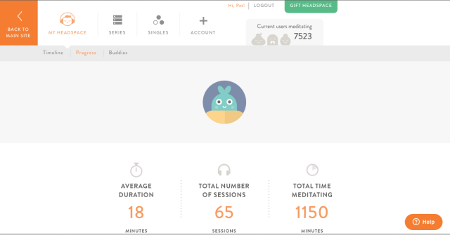 Screen Shot Headspace